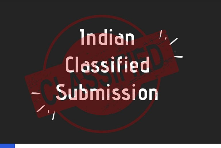 Indian-Classified-Submission