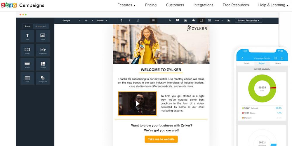 zoho-email-marketing