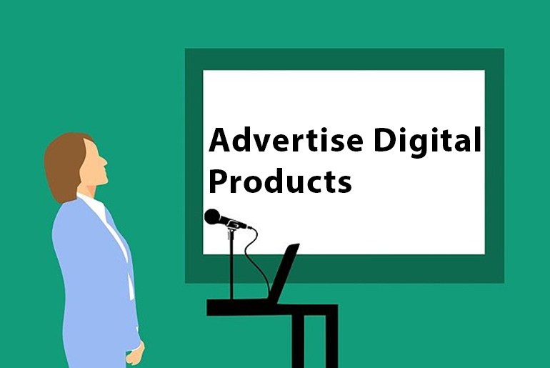 Advertise Digital Products