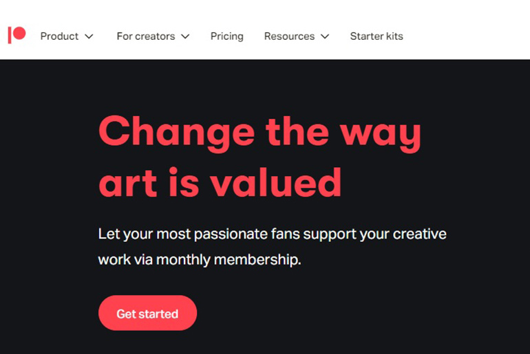 Create a Patreon Page