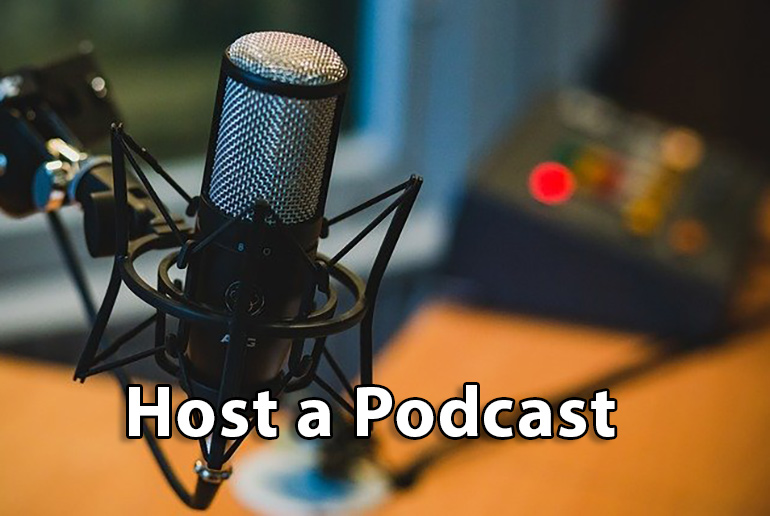 Host a Podcast