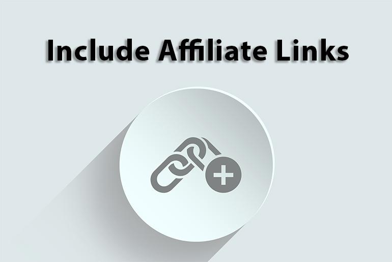 Include Affiliate Links