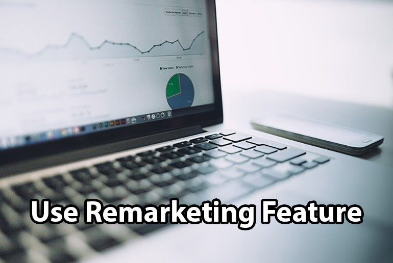 Use Remarketing Feature