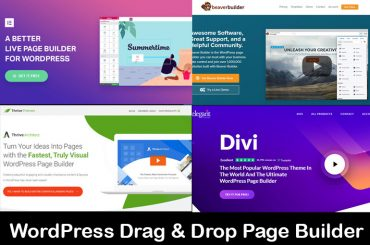 WordPress Drag & Drop Page Builder