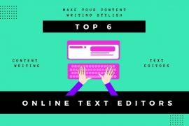 Online Text Editors