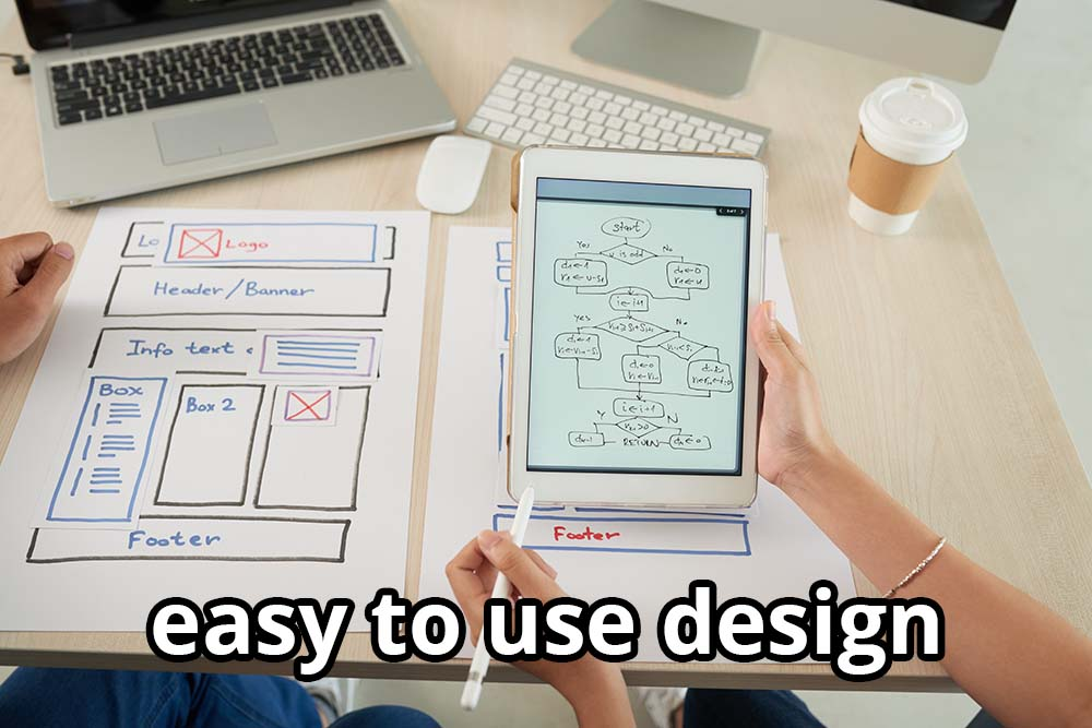 easy to use design