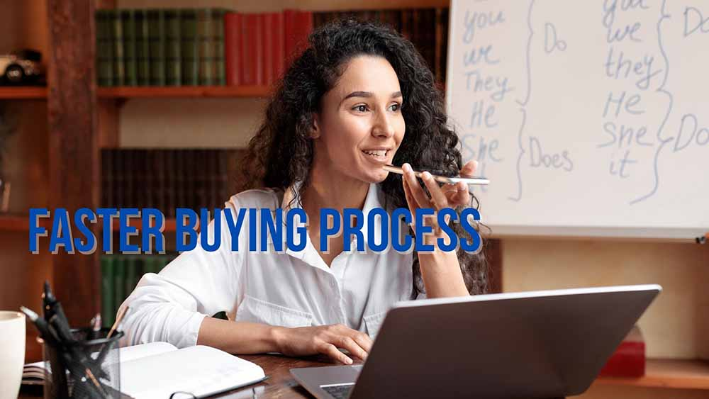 Faster Buying Process